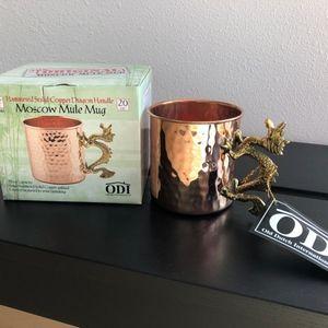 Old Dutch International Dining - NIB - Dragon Moscow Mule Mug